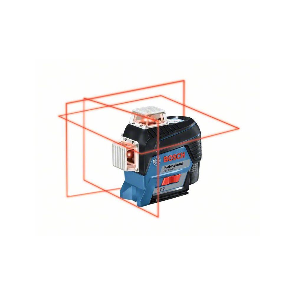 BOSCH GLL 3-80 C + BM1 + L-Boxx + LR7